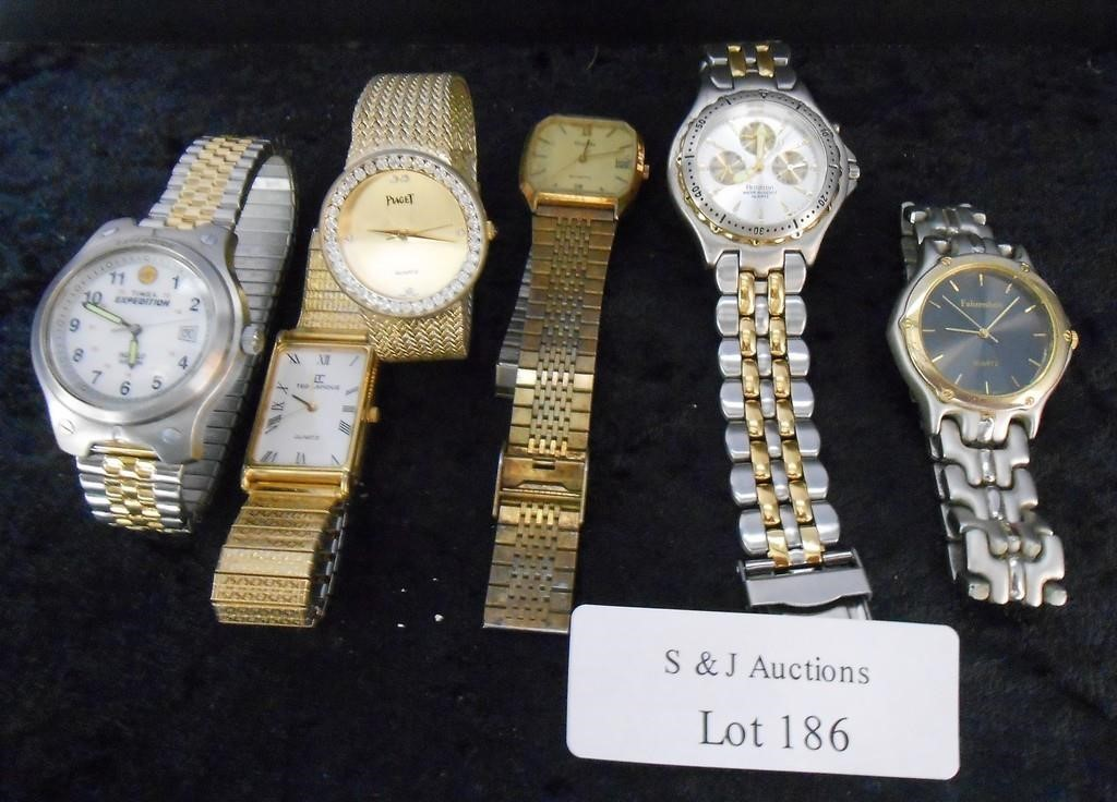 Lot of 6 Assorted Used Watches