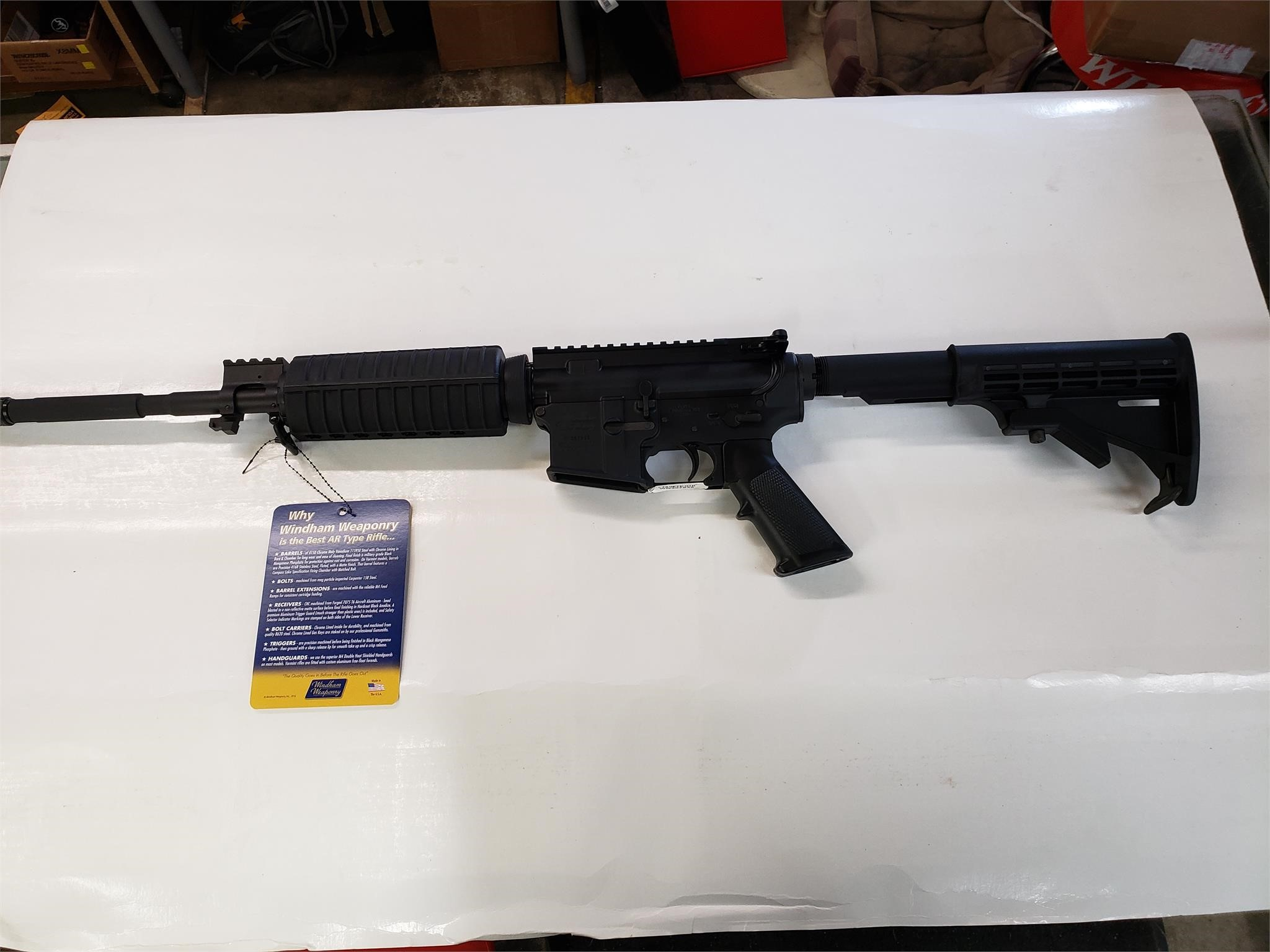 firearms dealer inventory reduction