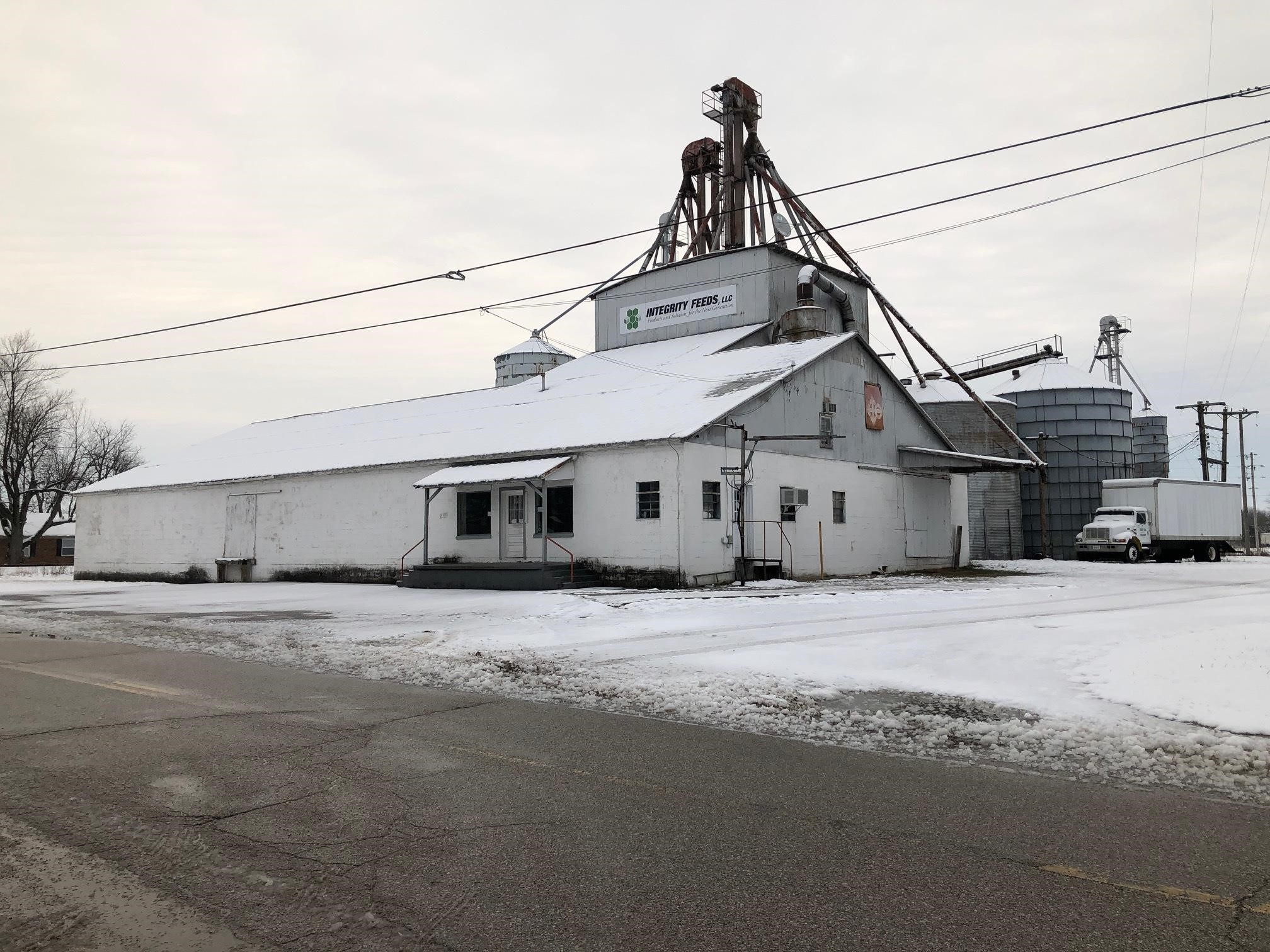 Tract 1: Feed Mill Building 1.24 +/- AC