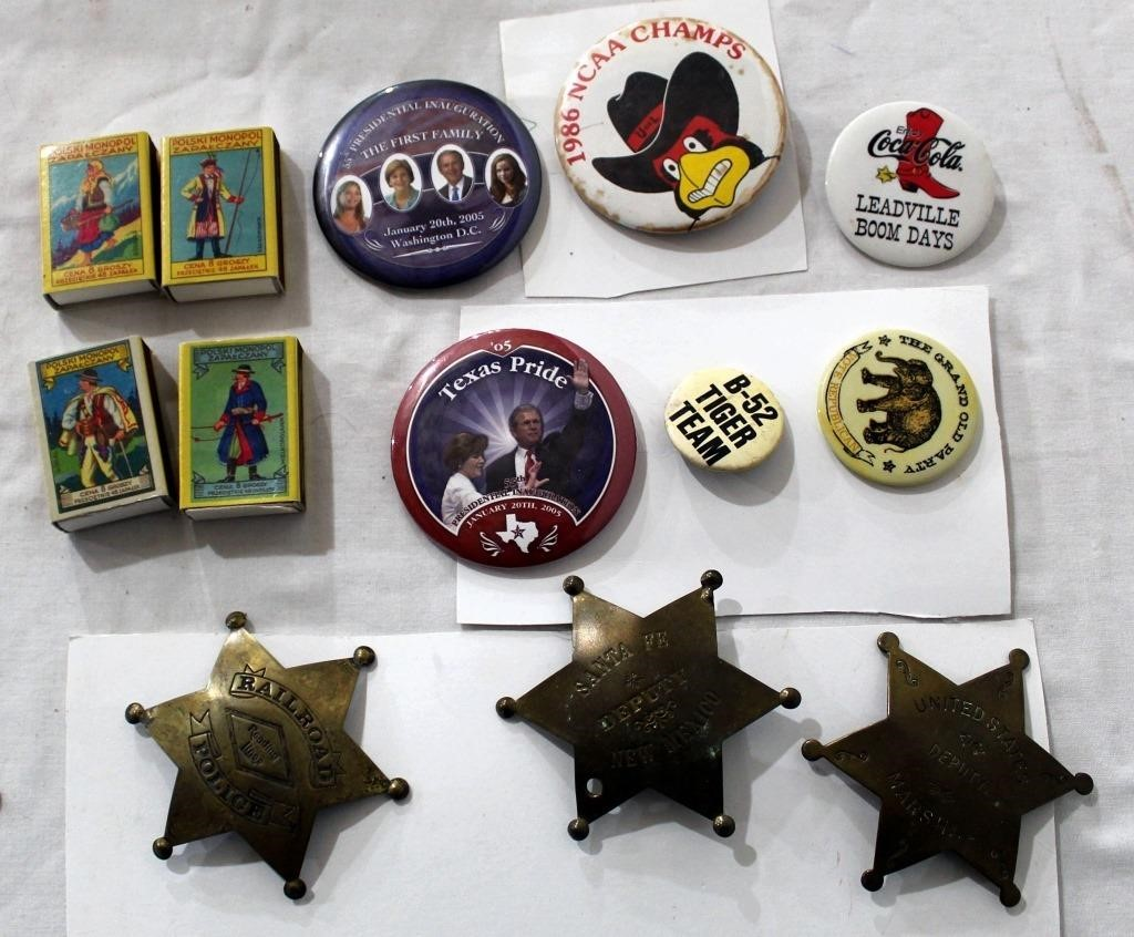 Collectible Buttons, Matches