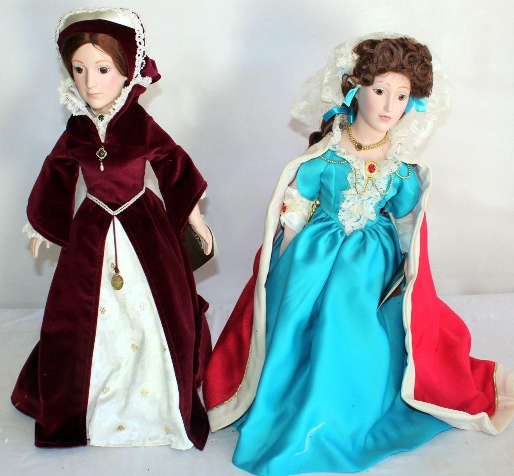 Heirloom Ceramic Dolls (Mary I & II)