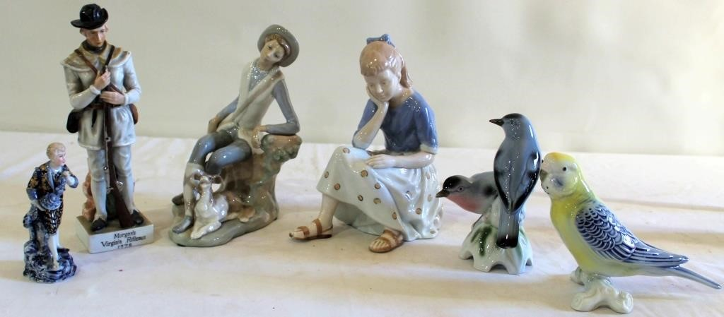 Misc Ceramic Figurines