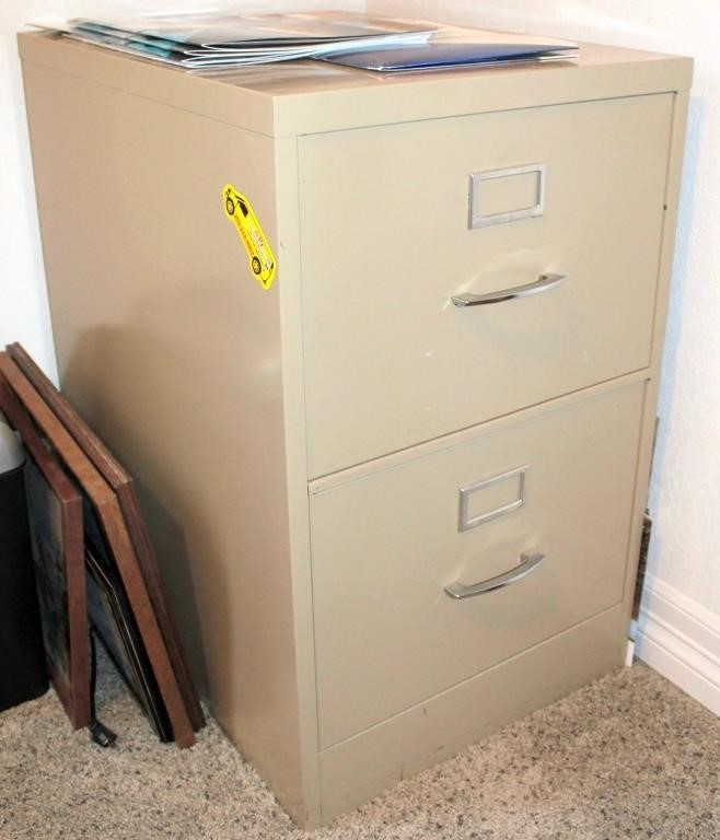 Small Metal File Cabinet