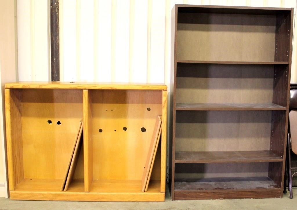 2 Book Shelves