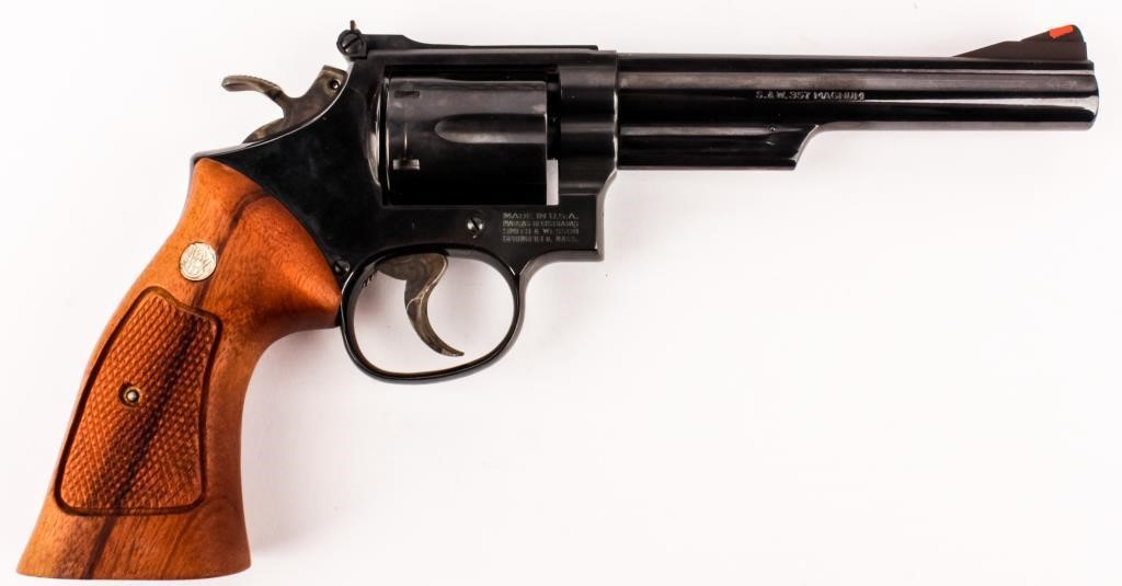 Gun Smith Wesson 19-5 DA Revolver in 357 MAG