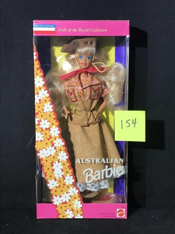 BARBIE DOLL COLLECTION AUCTION - OVER 225 DOLLS