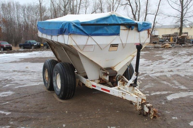 Fertilizer & Seed Spreader, 5-Ton, 50ft Spread,