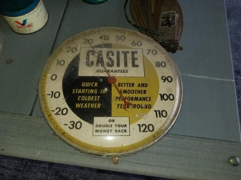 Vintage Casite oil Thermometor