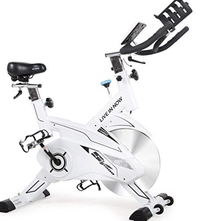 pooboo $499 Retail Indoor Cycling Bike, Exercise