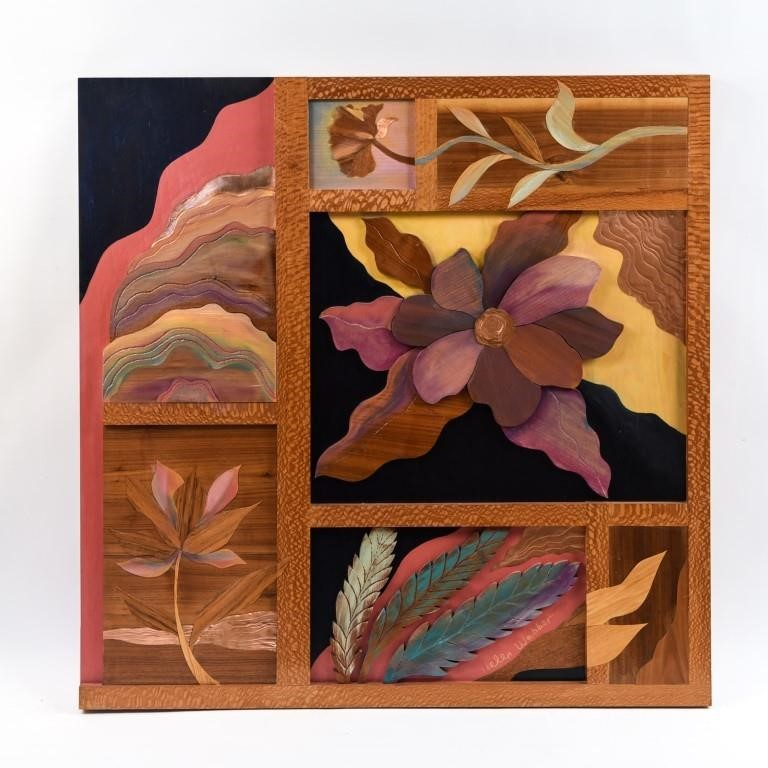 HELEN WEBBER WOOD RELIEF
