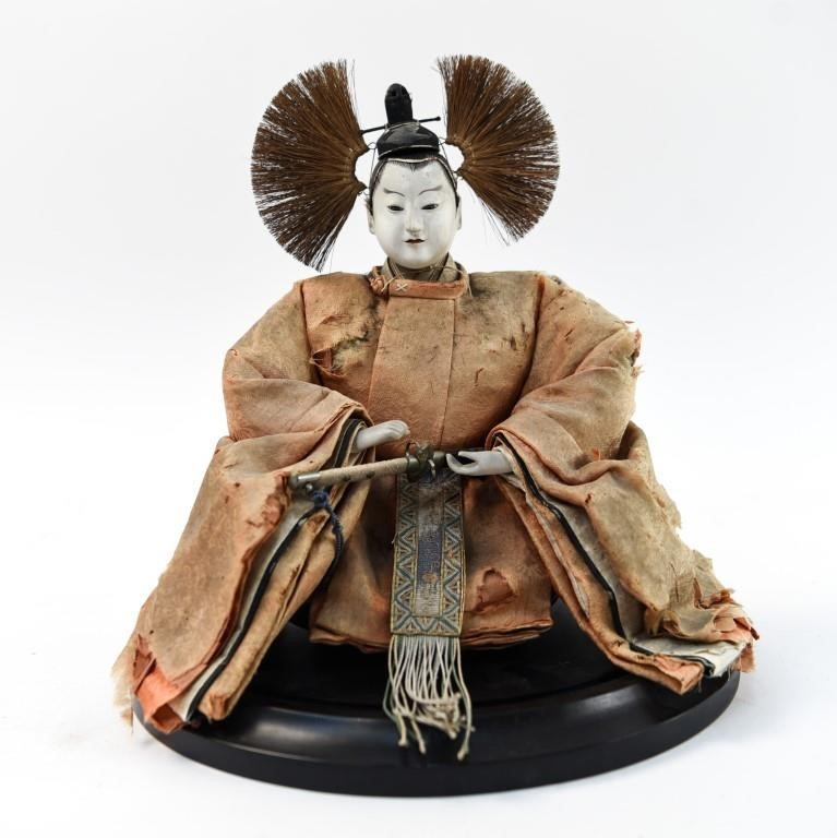 19TH CENTURY JAPANESE DOLL