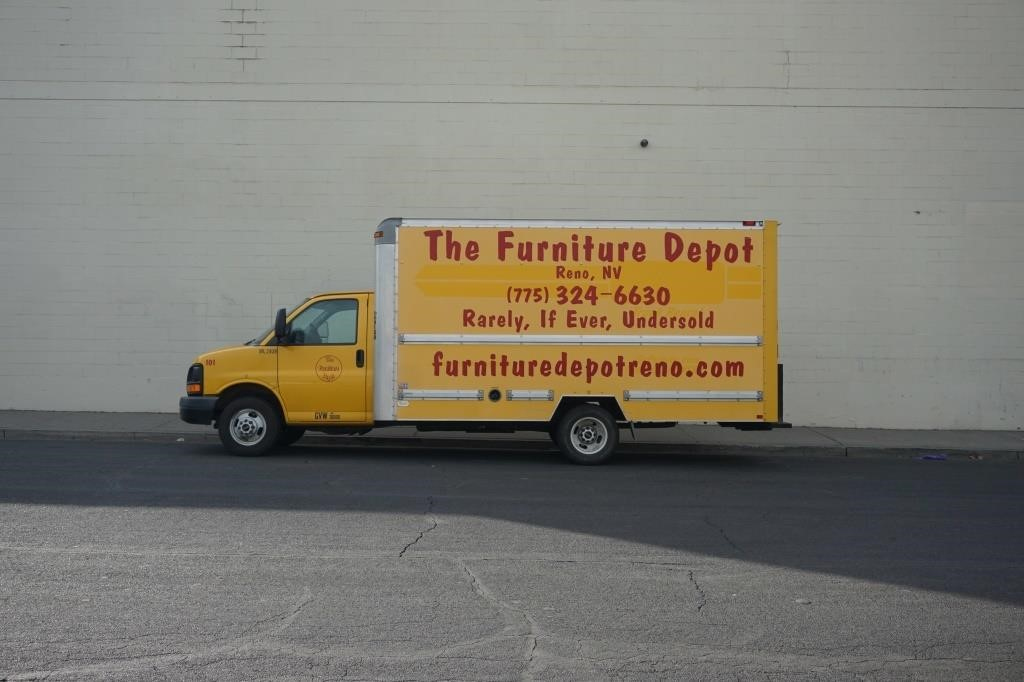 Furniture Depot Forklift and Moving Truck