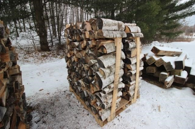 Pallet of Fire Wood