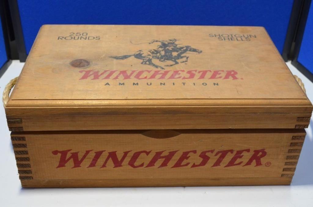 Winchester Ammo Box with contents