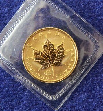 1997 Canadian $5.00 Dollar Gold Maple Leaf Coin