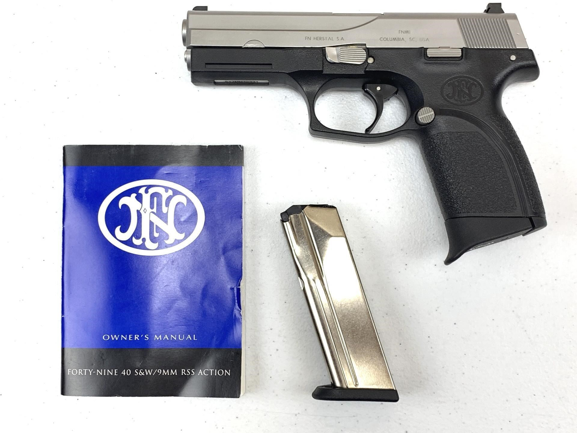 FN Herstal Fourty-Nine 9mm Semi-Automatic Pistol