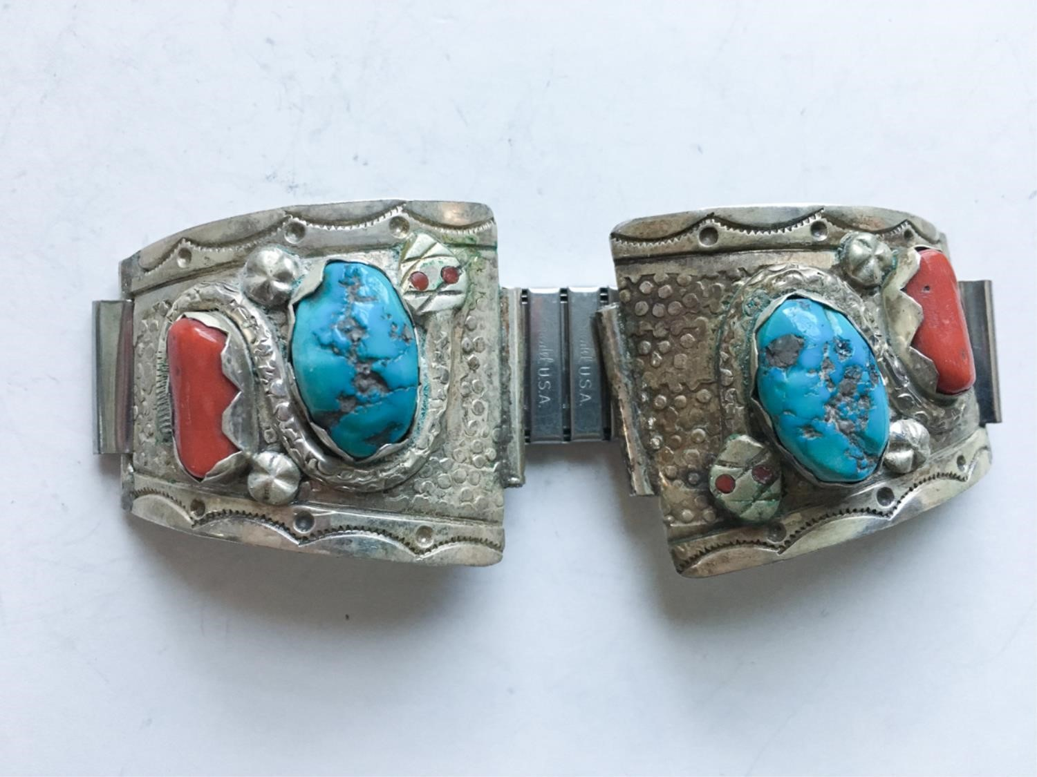 Estate Jewelry:100+ Pieces of Native American Jewelry
