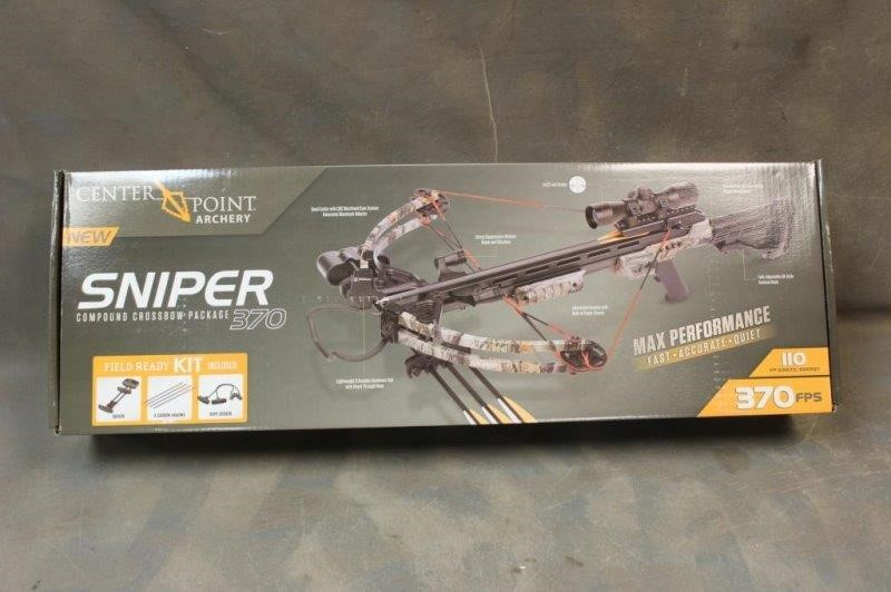 Center Point Sniper 370 Crossbow -NEW-