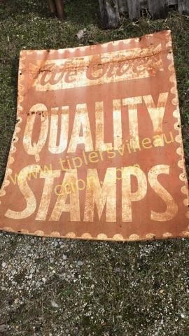 Quality stamps sign