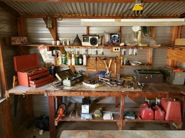 Huge Shed Lot Of Tools and Misc.