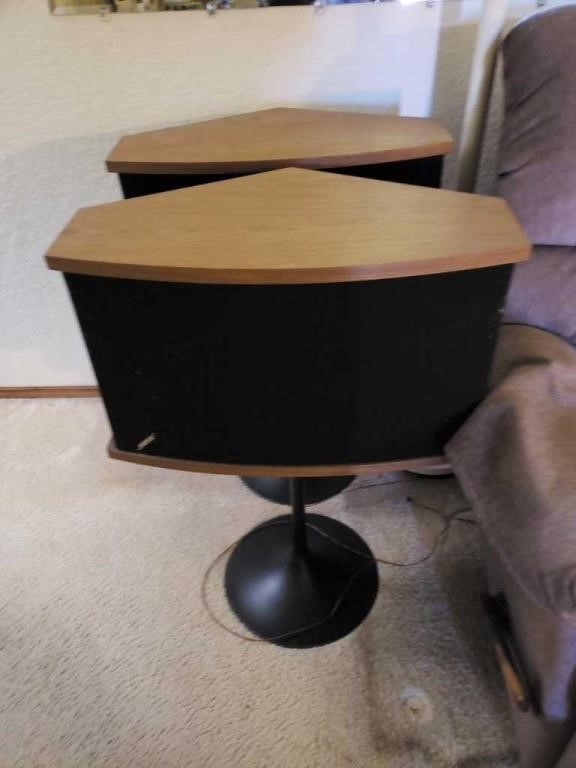 Pair Bose Pedestal Speakers