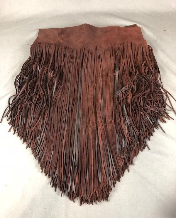 Fringed Leather