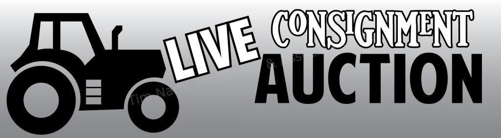 LIVE:  Consignment Auction - Have something to Sell?