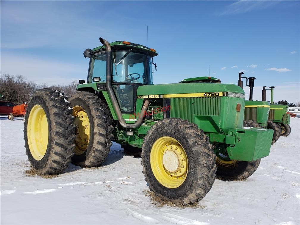Randy DeJonge Estate Farm Equipment Absolute Auction