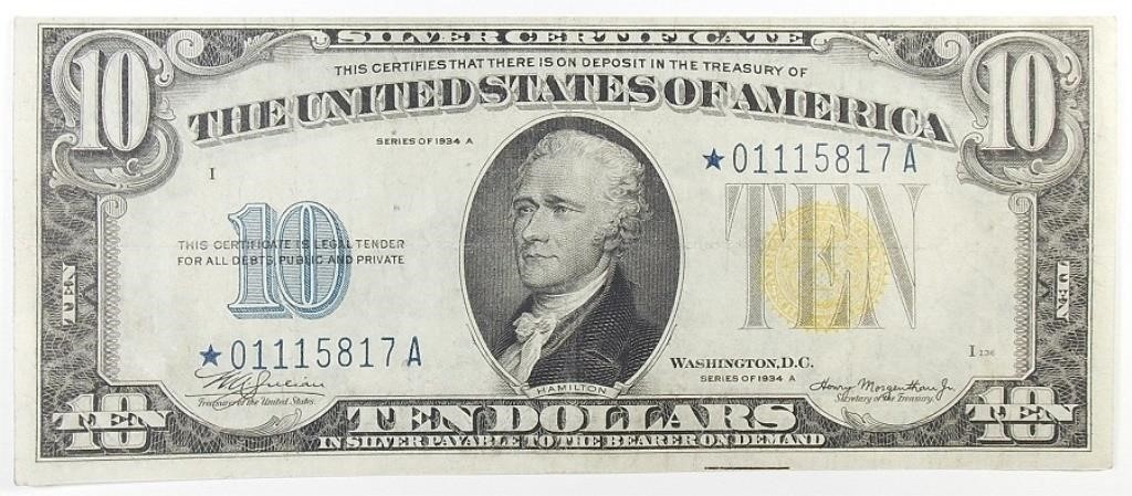 Online Rare Coin & Currency Auction #38
