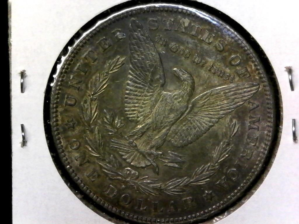 Silver Coins and More Auction, Morgans Galore
