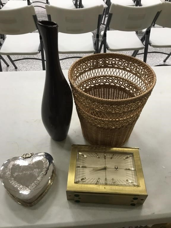BOCK ANTIQUES, COLLECTIBLES & HOUSEHOLD AUCTION