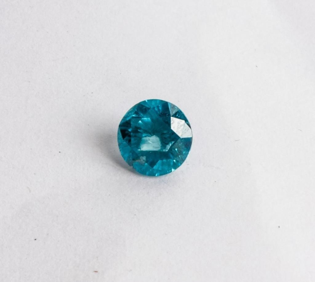 Jewelry Unmounted Blue Diamond ~ 1.05 Carats