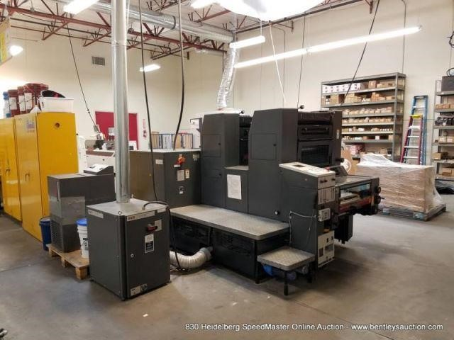 Heidelberg SM 52-2P Online Auction, March 6, 2019 | A830