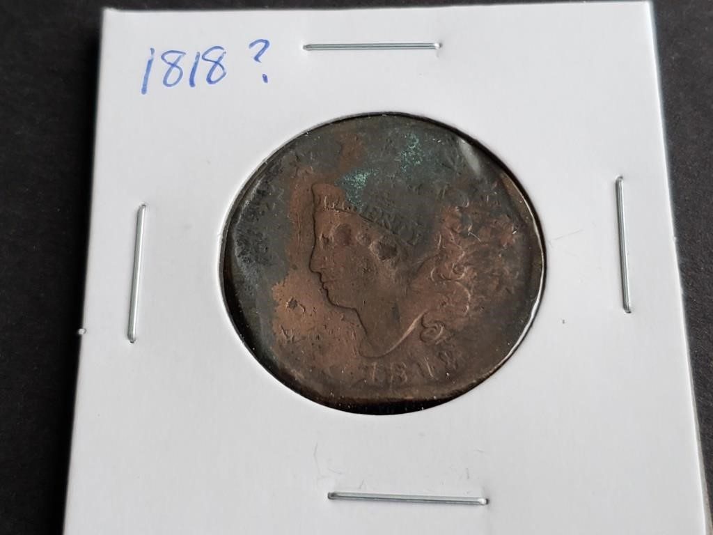 February's Coin Give Away & Auction