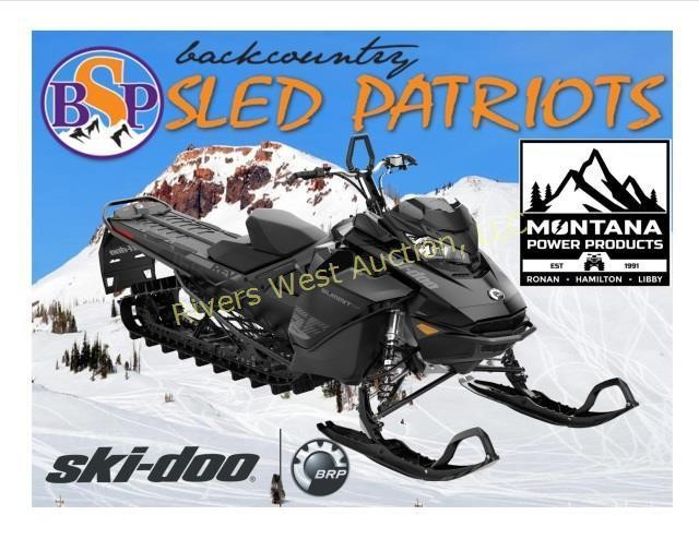Back Country Sled Patriots Ski Doo Auction