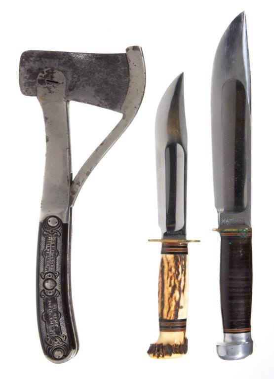 Marbles axes and knives from the Wentz Collection