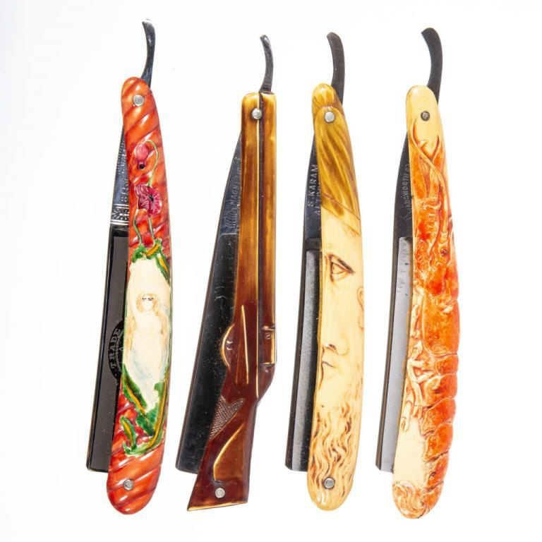Exceptional selection of razors from the Wentz Collection