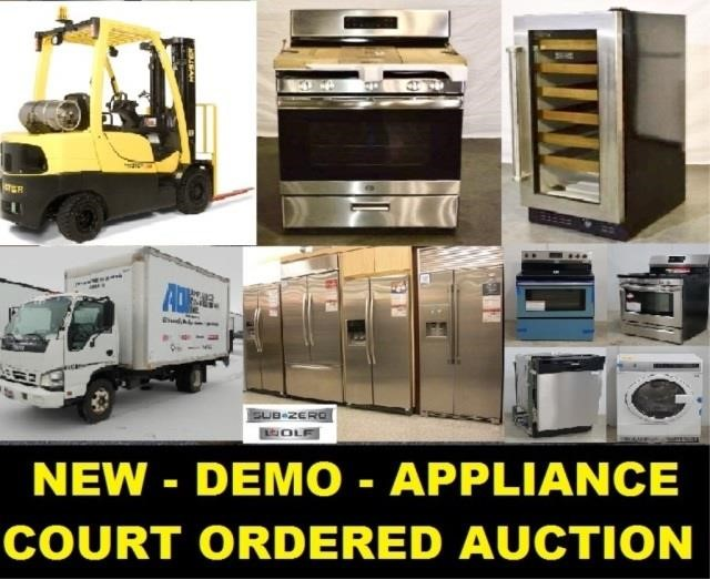 3/14/19 - Court Ordered Appliance Liquidation Auction