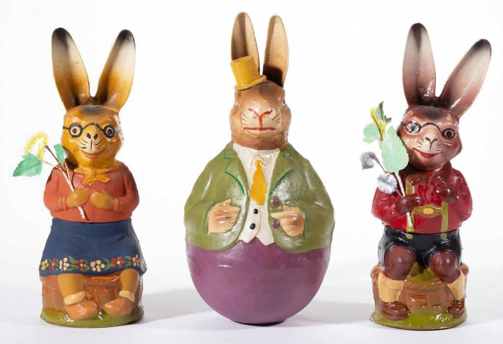 Large selection of Holiday toys and decorations, including Easter
