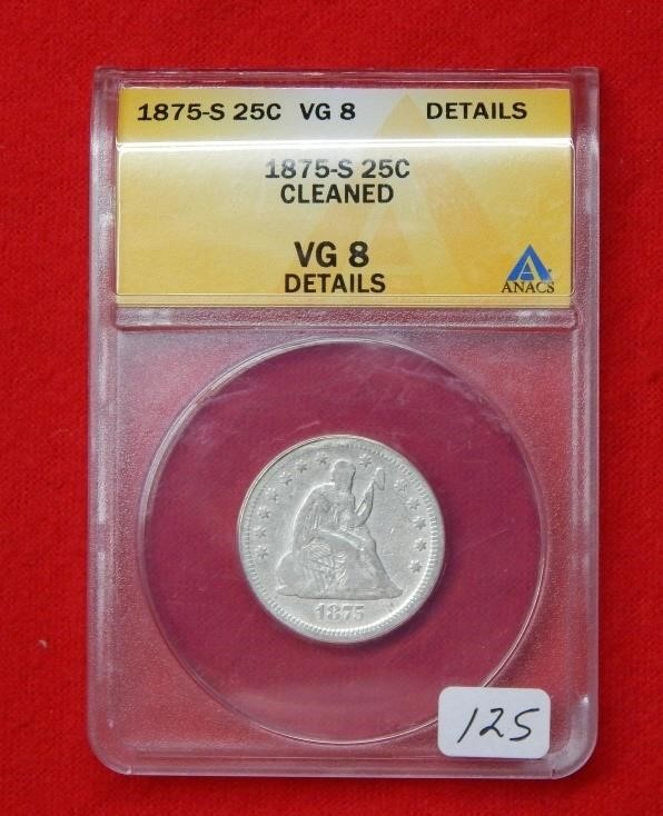 Weekly Coins & Currency Auction 12-14-18