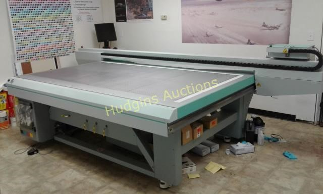 Commercial Flatbed Printer - Equipment
