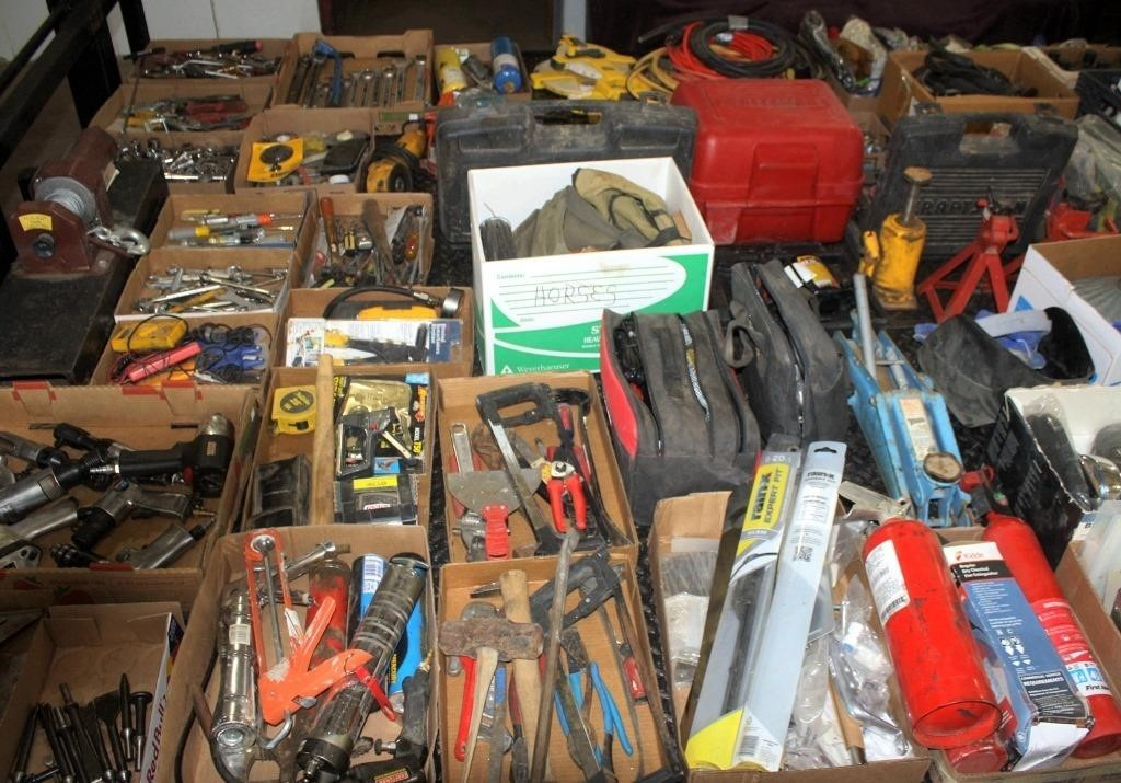Misc Tools on Trailer