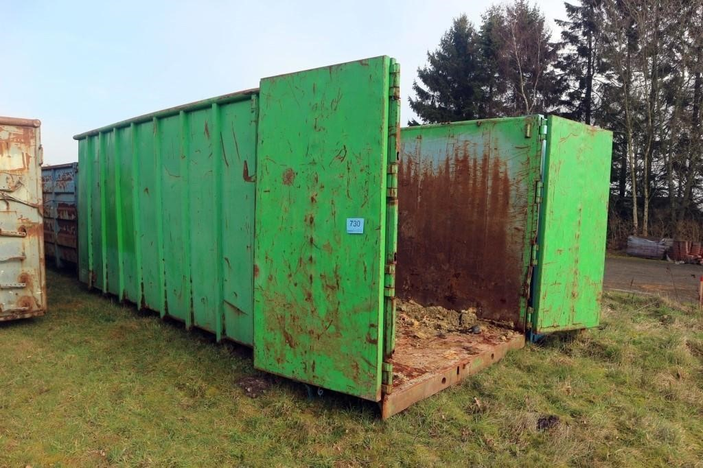 2850 NET: MASKINE OG CONTAINER AUKTION HOS UNIMAS (BORDING