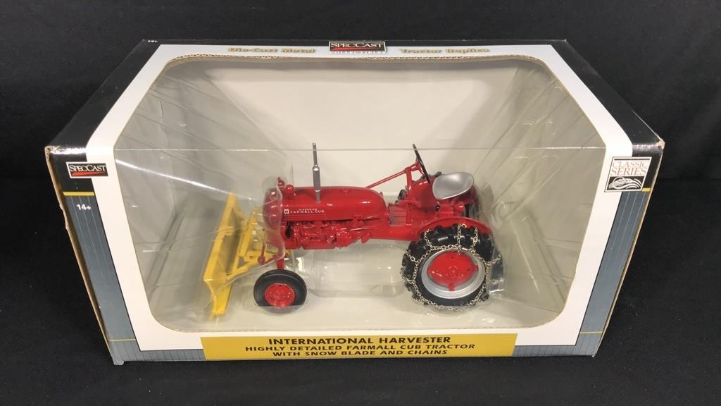 Exceptional IH Farmall Toy Collection