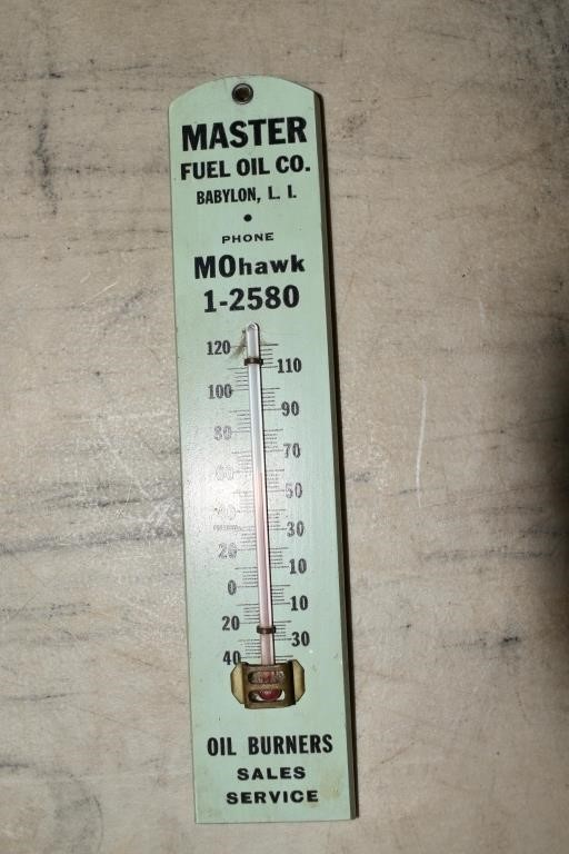 Master Fuel Co Thermometer