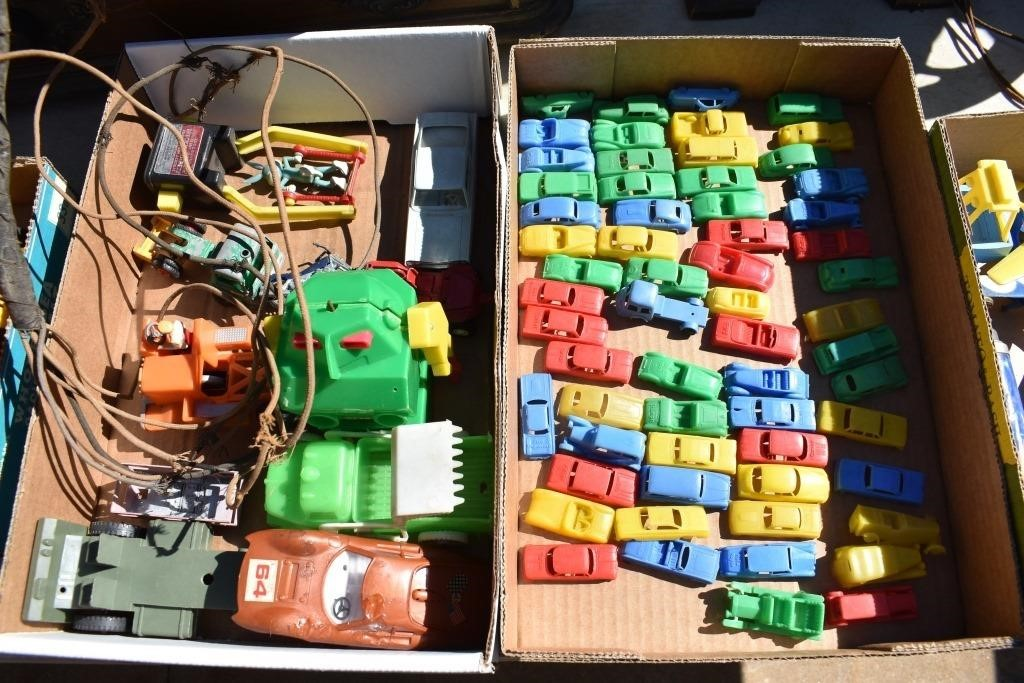Boxes Old Toys