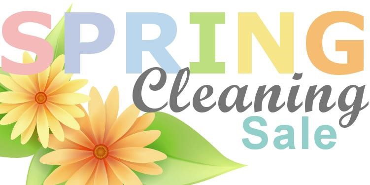 Spring Cleaning Online Auction