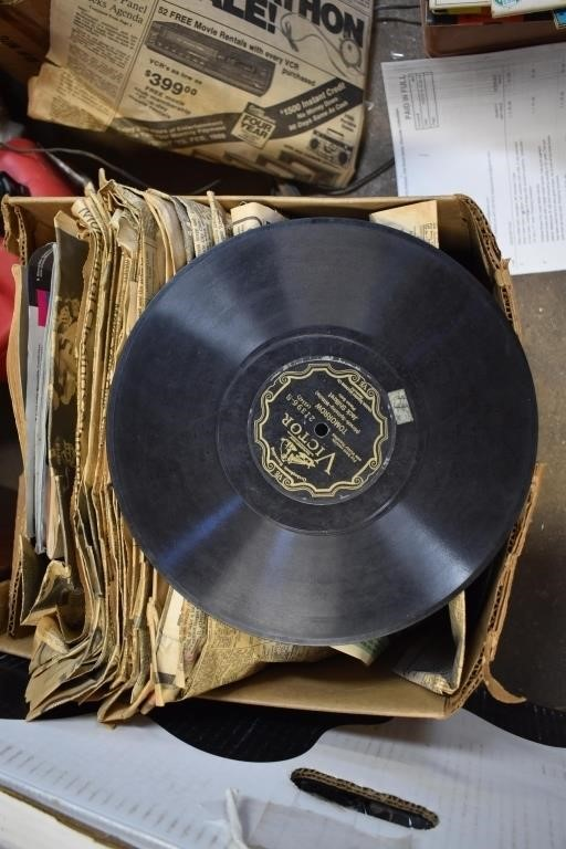 Box Full 78rpm Records