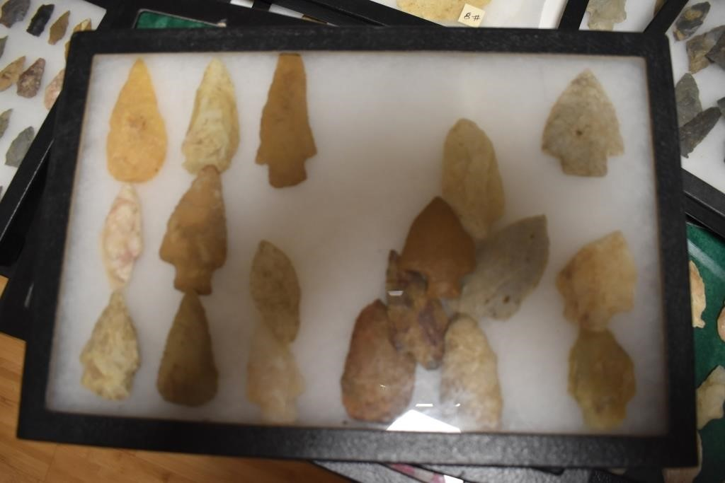 Large & Small Arrowhead Points