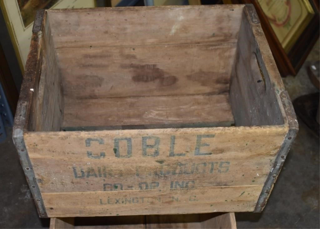 Wooden Coble Box Lexington, NC